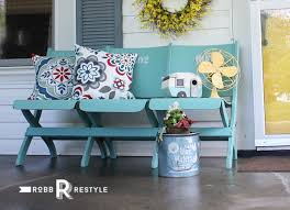 a painted bench guest post country chic paint