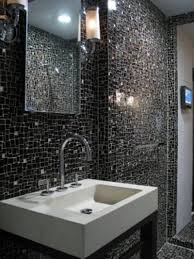 decoration exquisite design ideas using brown glass tile