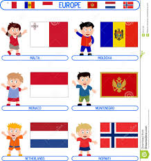 Europe Flags Flags Of Europe For Kids More Information Djekova