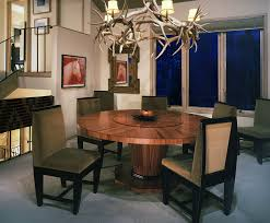 traditional dining room ideas modern traditional dining room idea with antler light fixture also