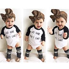 click to buy newborn baby clothing letter pringt winter