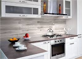 Modern Silver Gray Long Subway Marble Backsplash Tile New House - Modern kitchen backsplash