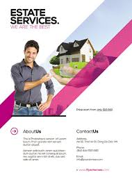 real estate brochure templates psd free realtor flyer templates fr on flyer poster template free