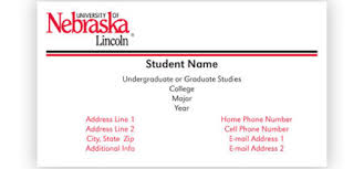 student business card student business cards print copy mail distribution services