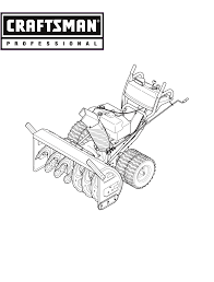 craftsman snow blower 247 88045 user guide manualsonline com