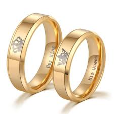 king gold rings images Her king his queen gold just promise rings jpg