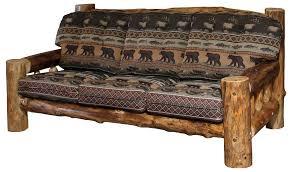Rustic Furniture Store Rustic Aspen Log Sofa Rustic Log Furniture The Log Furniture Store
