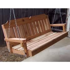 outdoor bench swing treenovation