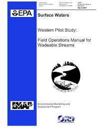 environmental monitoring and assessment program surface waters