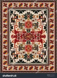 ethnic style rug design stock vector 356134970 shutterstock