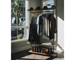 industrial coat rack etsy