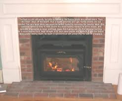 natural fireside stove country performer c wood stove insert to