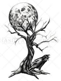 creepy tree shoulder chest and arm