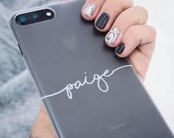 personalised phone etsy uk