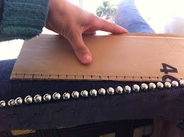 Dritz Home Decorative Nailhead Trim How To Keep Your Studs In Line Some Upholstery Advice Nail