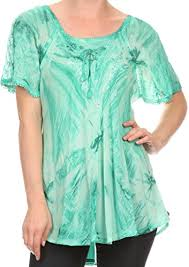 ombre blouse sakkas taylay ombre tie dye batik embroidered corset neck