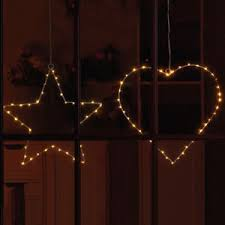 battery operated star lights 40 copper battery powered led decorative hanging heart and star
