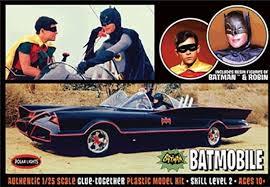 1966 batmobile batman robin model kit polar lights pol920