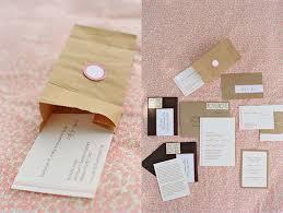Kraft Paper Wedding Invitations Kraft Paper Bag Wedding Invitations Elizabeth Anne Designs The