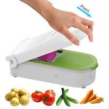Potato Storage Container Kitchen Amazon Com Vegetable Chopper Dicer Slicer Cutter Manual