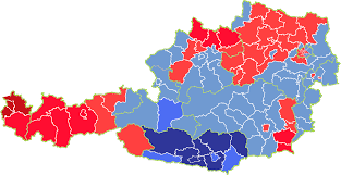 2008 Presidential Election Map by Austrian Election Maps