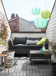 bank fã r balkon kungsholmen hoekelement buiten zwartbruin modular furniture