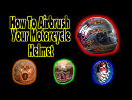 airbrushed motocross helmets how to airbrush your motorcycle helmet youtube