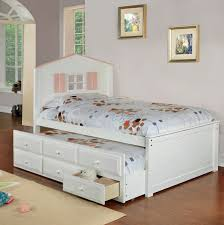 twin beds girls twin size bed frame with trundle and drawers underneath for little