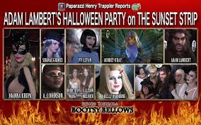 adam and eve costumes halloween adam lambert u0027s halloween party on the sunset strip youtube