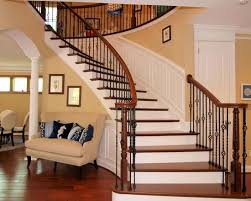 Modern Home Design Modular Custom Home Plans Modular Hall Design With Curved Staircase With