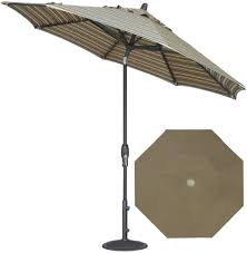 Sun Garden Easy Sun Parasol Replacement Canopy by Treasure Garden Umbrella Replacement Canopy