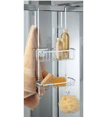 Door Shower Caddy Stainless Steel Shower Door Organizer In Shower Caddies