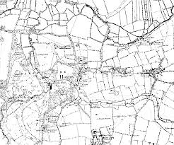Black And White Map Vintage Road Map Black And White
