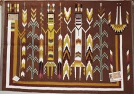Arts And Crafts Style Rugs Yei Style Native Indian Rugs Southwestern Rug Navajo Yei