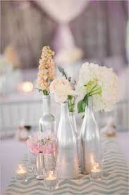 silver centerpieces weddings on a budget diy wedding decorations and ideas