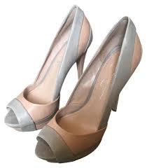 jessica simpson nudw jessica simpson nude open toe pumps size us 8 regular m b from