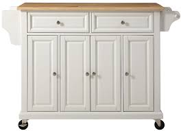 amazon com crosley furniture rolling kitchen island with natural amazon com crosley furniture rolling kitchen island with natural wood top white kitchen dining