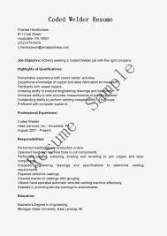 Welding Resumes Examples by Examples Of Resumes It Resume Samples 2016 Cto Regarding Outline