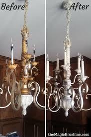 spray painting light fixtures light fixtures