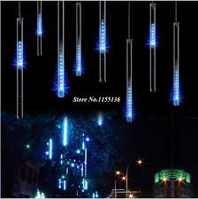flashing christmas light bulbs 30 50cm 8pcs set led meteor lights led l lights flashing