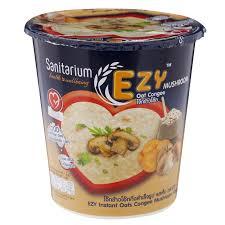 instant cuisine sanitarium ezy instant oats congee flavour 35g tops