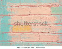 Pink Brick Wall Blue Brick Wall Background Stock Images Royalty Free Images