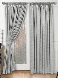 Grey And Silver Curtains
