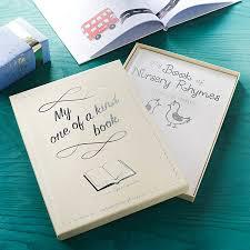 personalised christening book of nursery rhymes by letteroom