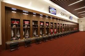 49ers unveil levi u0027s stadium locker room