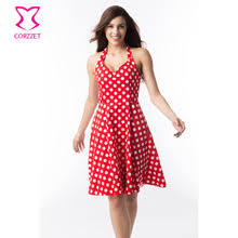 online get cheap red polka dot dress aliexpress com alibaba group