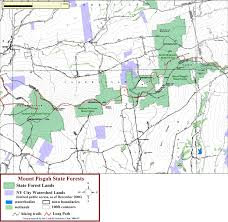 Map Of Ashland Oregon by Catskill Mountain Club U0027s Catskill Region State Land Maps