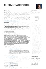 Sample College Professor Resume Special Education Teacher Resume Samples Best Resume Collection
