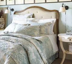 Pottery Barn Upholstered Bed Fabulous Pottery Barn Headboard Upholstered Headboard Pottery Barn