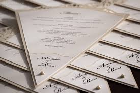 Fan Programs For Weddings A U0027must See U0027 Gallery Wedding And Event Stationery Designed By
